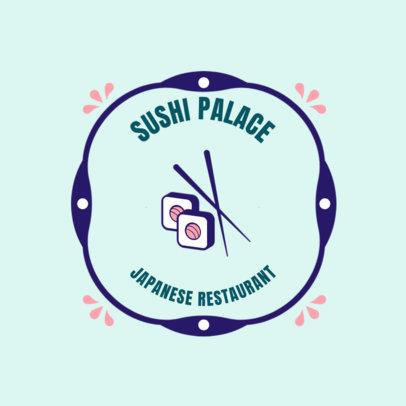 Sushi Restaurant Logo Maker 1817e