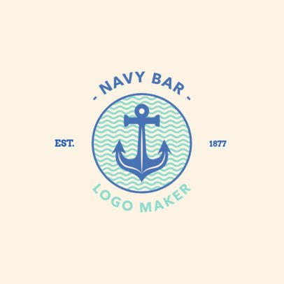 Logo Maker for a Beach Bar 1758a