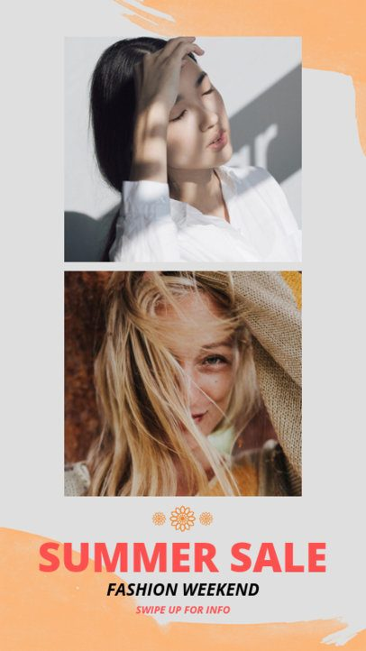 Instagram Story Template for Summer Sales 963