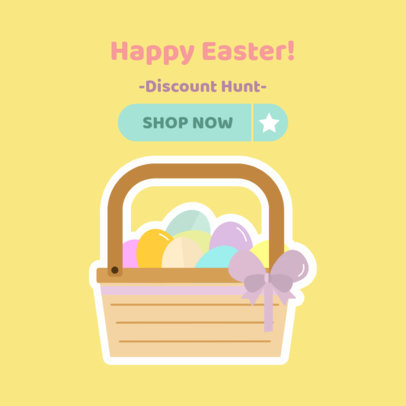 Online Banner Maker for Online Easter Sales  524g