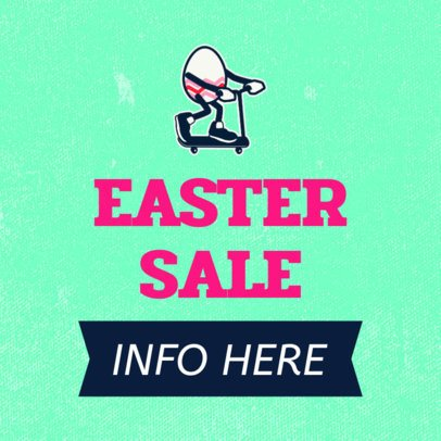 Banner Maker for a Special Easter Sale 755f