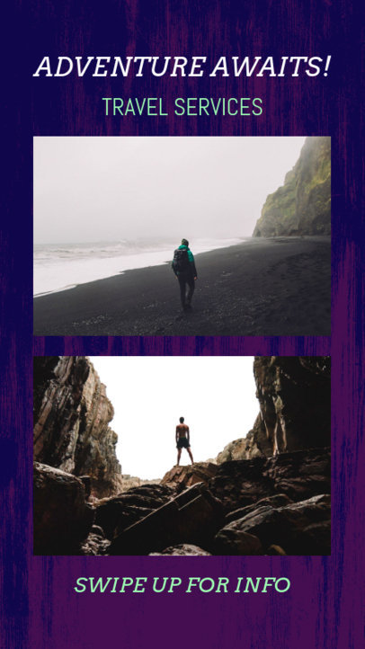 Adventurous Instagram Story Template 962b