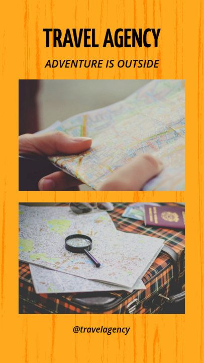 Bold Instagram Story Template for Travel Agencies 962c