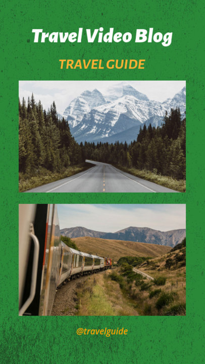 Instagram Story Template for a Travel Video Blog 962e