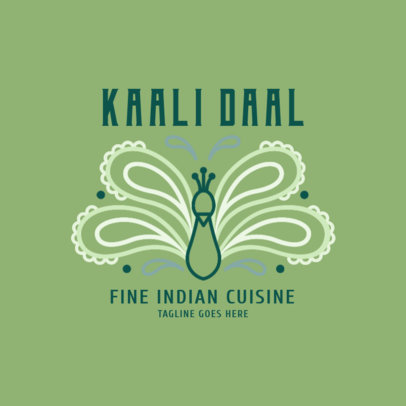 Fine Indian Cuisine Logo Maker 1829d