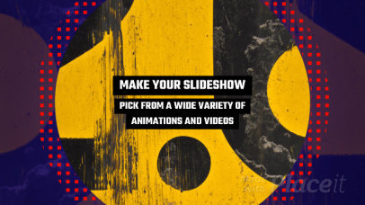 Slideshow Video Maker with Bold Animated Transitions 779a 1451