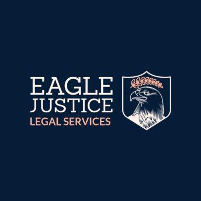 Law Services Company Logo Maker 1855b