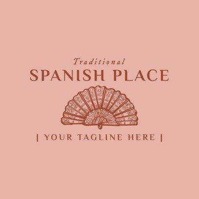 Traditional Spanish Food Logo Maker 1918e