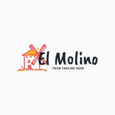 Spanish-themed Restaurant Logo Maker
