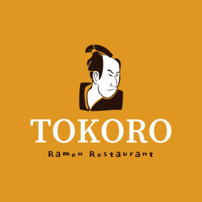 Logo Generator for a Japanese Ramen Restaurant 1824b