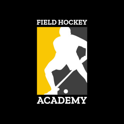 Field Hockey Logo Maker for Hockey Academies 1933d