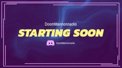 Twitch Overlay Maker for Twitch Starting Livestreams 1222d