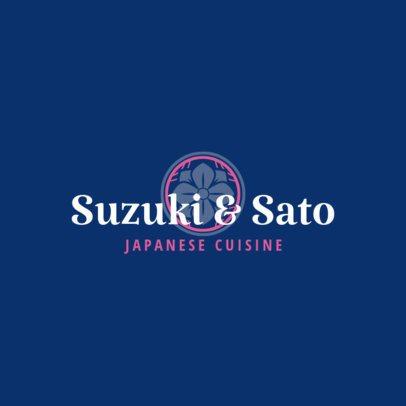 High-end Logo Maker for a Japanese Cuisine Restaurant 1823d