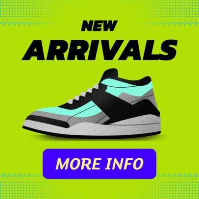 Online Banner Design Template for Tennis Shoes Ads 538c