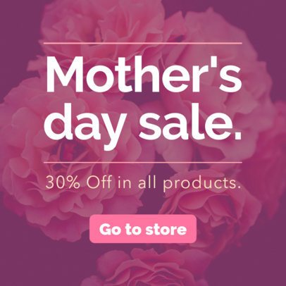 Banner Maker for a Mother's Day Sale 751h