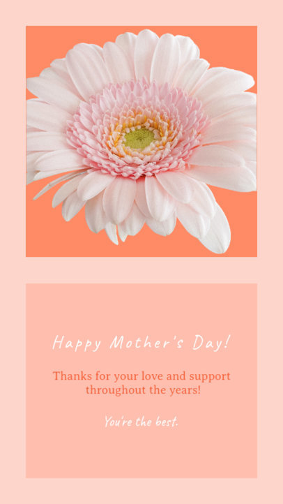 Mother's Day Instagram Story Template for a Flower Shop 1046f