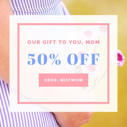 Mother's Day Sale Online Banner Maker 269g