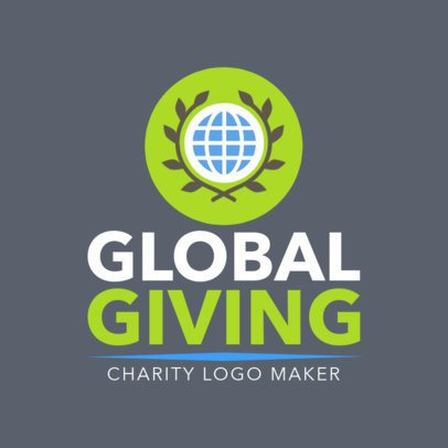 Logo Generator for an Organization with a Charity Cause 1507c