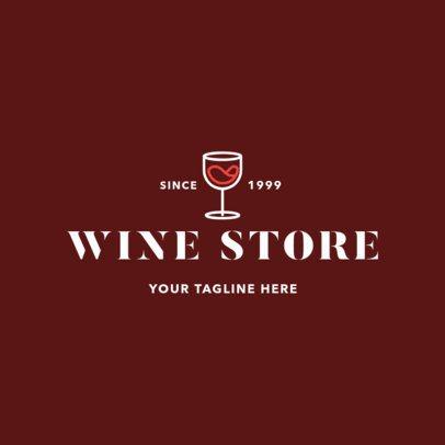 Classic Liquor Store Logo Maker 1813d