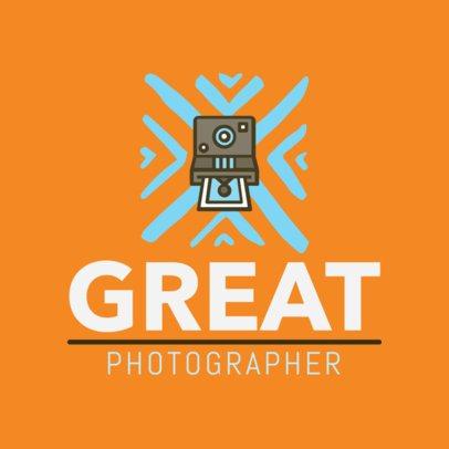 Photographer Logo Design Template 1439d