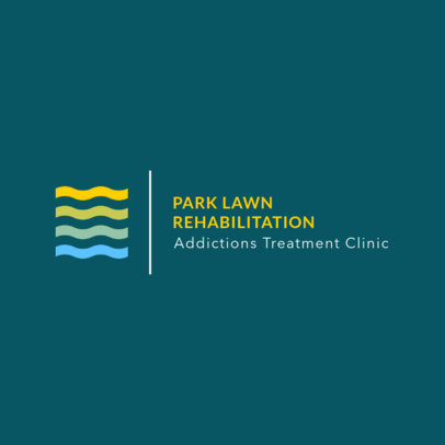 Online Logo Generator for a Rehab Clinic 1504e