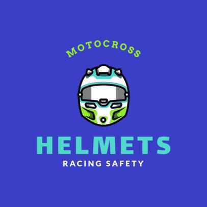 Motocross Logo Maker for a Racing Team 1647a