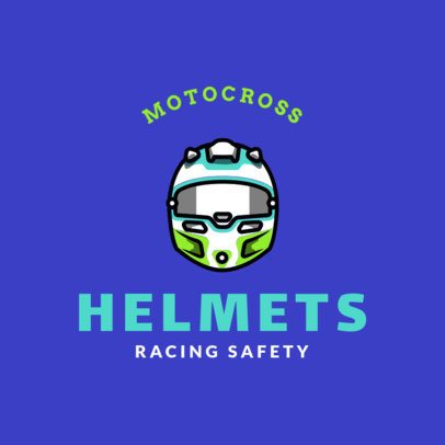 Motocross Logo Maker for a Racing Team 1647a