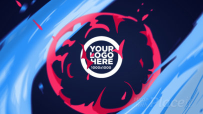 Intro Maker for a Cool Logo Reveal Video with 2D Motion Graphics 1501