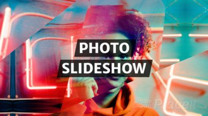 Photo Slideshow Video Maker with Kaleidoscope Motion Graphics 1296
