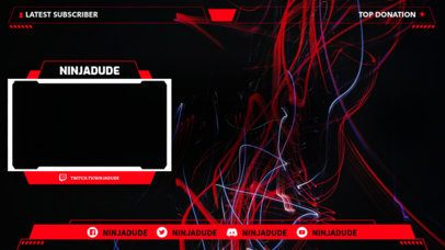OBS Overlay Template for Twitch 1249c