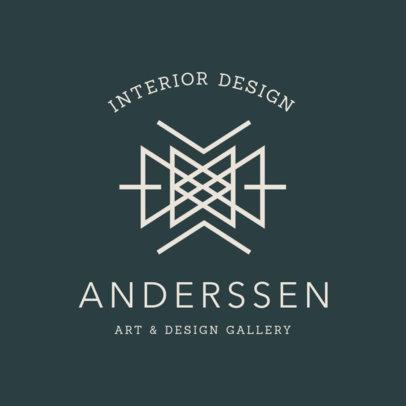 Logo Maker for an Art & Design Gallery 1325f