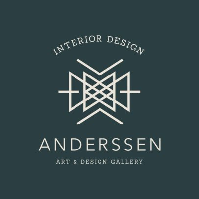 Logo Maker for an Art & Design Gallery 1325f