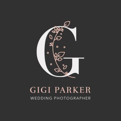 Wedding Photography Logo Generator 2172e