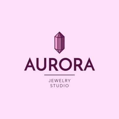 Simple Logo Maker for a Jewelry Studio 2191a