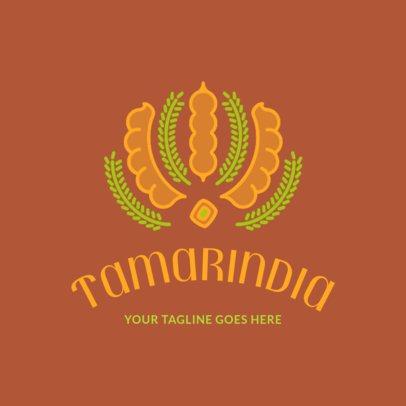 Simple Logo Maker for an Indian Food Restaurant 1834e