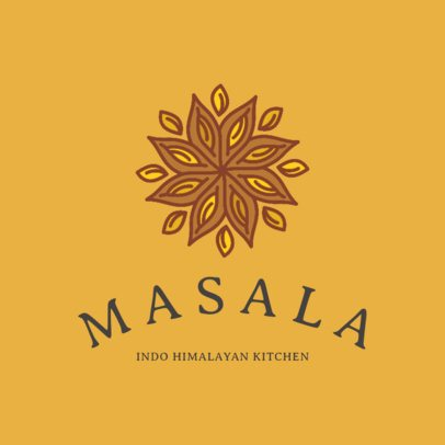 Logo Maker for an Himalayan Fusion Restaurant 1834a