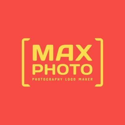 Modern Photography Logo Maker 2171c