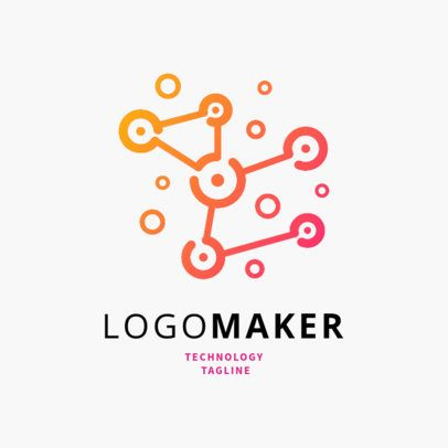 Online Logo Creator for an IoT Company 2176e