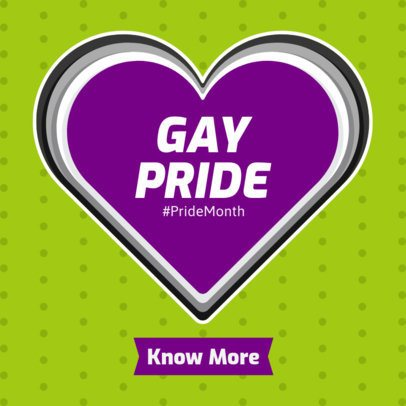 Gay Pride Ad Banner Creator 1295b