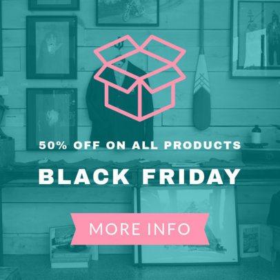 Black Friday Special Discount Online Banner Maker 753d