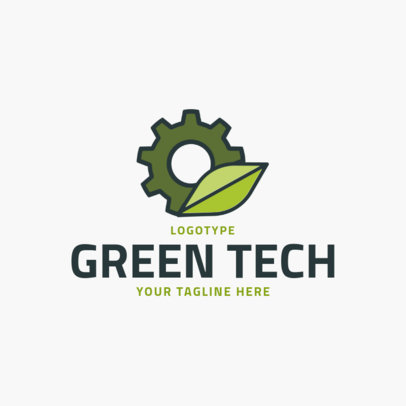 Online Logo Maker for a Green Technology Company 2174e