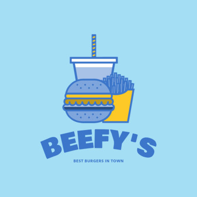 Online Logo Maker for a Fast Food Restaurant 1248e