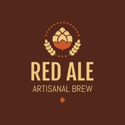 Artisanal Beer Logo Maker 1654e