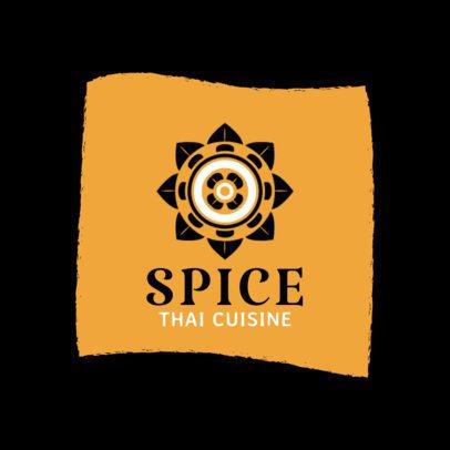 Restaurant Logo Maker for Thai Cuisine 1839c