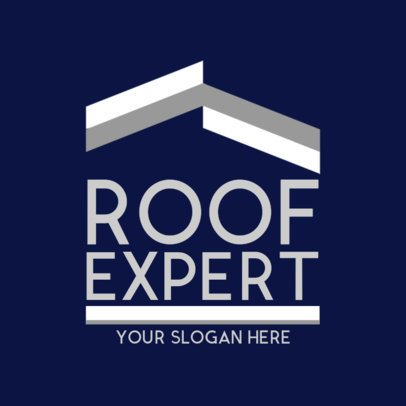 Roofing Logo Maker for a Roof Expert 1480a