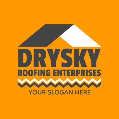 Logo Maker for Roofing Enterprises 1480e