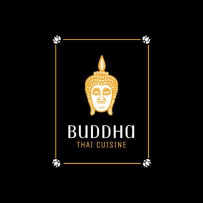 Thai Food Logo Maker for Thai Cuisine 1841a