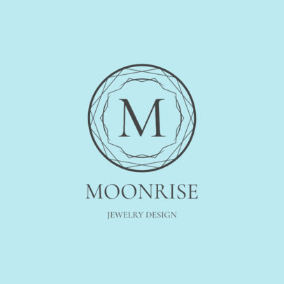 Luxury Jewelry Logo Maker with a Minimalist Emblem 2190