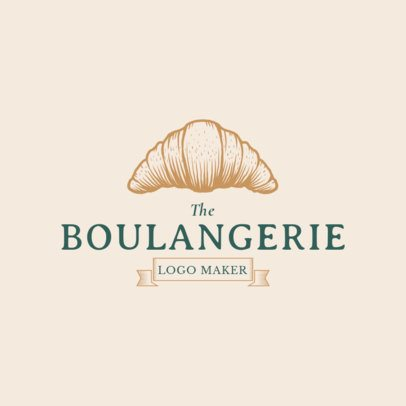 Boulangerie Logo Maker with Bakery Graphics 1113c
