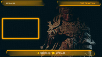 Twitch Overlay Generator with Semi Transparent Features 1242d
